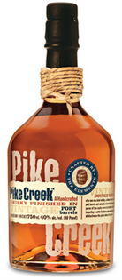 Pike Creek Canadian Whisky Finished In Port Barrels 750ml